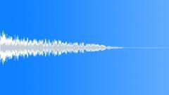 Stock Sound Effects of Metallic Bang 01