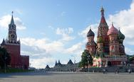 Kremlin red square Stock Photos