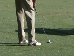 Golf Shot Handheld 01-PhotoJpeg - stock footage