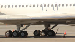 Aircraft at the airport. Stock Footage