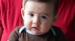 Sad Baby - stock footage