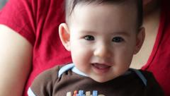 Happy Baby Stock Footage