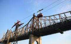 Roosevelt island aerial tramway Stock Photos
