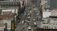 NYC Traffic Time lapse 3 Stock Footage
