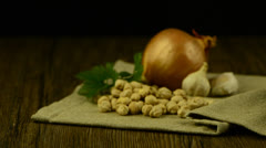 Food ingredients Stock Footage