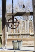 Stock Photo of water well