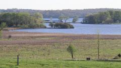 Lakeside Green Lake Watershed Stock Footage