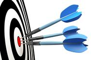 Stock Illustration of dart arrows