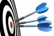 Dart arrows Stock Illustration