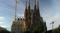 Barcelona 98 SagradaFami'liaTL Stock Footage