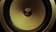 Speaker Vertical Pan Stock Footage