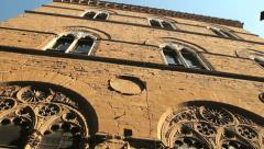 Palace in Florence Stock Footage