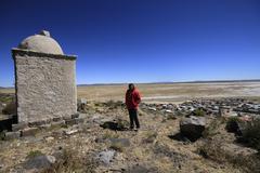 Ruins of atlantis, bolivia Stock Photos