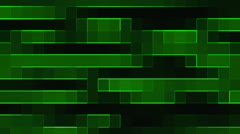 Abstract green grid background Stock Footage