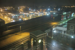 Mississippi Union Station Stock Footage