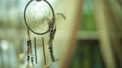 Native american dream catcher Stock Footage