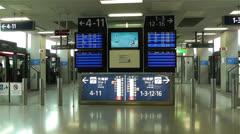 Kansai Airport Osaka Japan 10 handheld Stock Footage