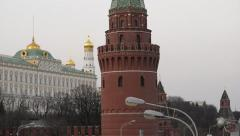 Moscow Kremlin Stock Footage