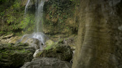 Views of the Soroa Fall, Pinar del Rio, Cuba Stock Footage