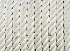 seaman rope - stock photo
