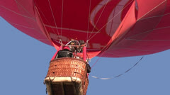 Red balloon - stock footage