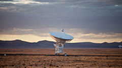 Very Large Array Radio Observatories - Time Lapse - 4k Stock Footage