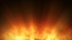 Blazing fire Stock Footage
