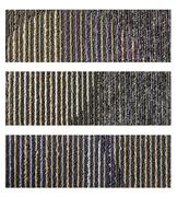 Samples of collection carpet on a white Stock Photos