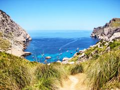 Stock Photo of cala figuera, majorca