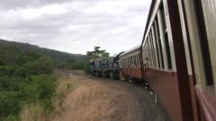 TrainCairnsKuranda Stock Footage