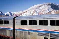 Matkustajasataman juna Kuvituskuvat