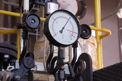 Stock Photo of manometer pressure