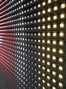 Stock Photo of RGB LED screen panel texture