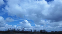 Time Lapse of Clouds Stock Footage