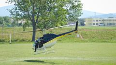 Helikopteri lentoon Kuvituskuvat