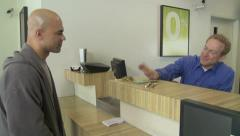 Bank Gives Cash For Gold Stock Footage