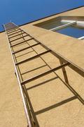 Stock Photo of fire escape