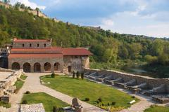 Holly forty martyrs church, built 1230, veliko tarnovo, bulgaria Stock Photos