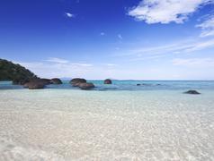 koh kham beach - stock photo