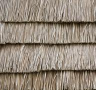 Stock Photo of straw wall