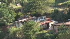 Shacks South Africa Stock Footage