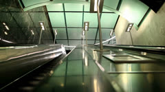 Escalator Up Stock Footage