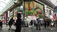 Stock Video Footage of Namba District Osaka Japan 73