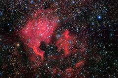 North America nebula Stock Photos