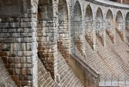 Stock Photo of architectural feature bridge dam in sedlice, europe, czech republic
