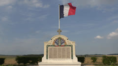 "The ""Great Grave"" (Grande Tombe) of Chauconin, France. Stock Footage"