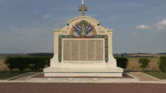 The Great Tomb of Chauconin, France. Stock Footage