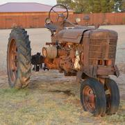 Antique Tractor, Stock Photos