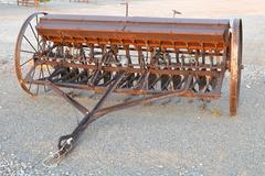Antique Farming Equipment Stock Photos