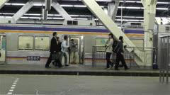 Nankai Namba Station Osaka Japan 3 Stock Footage
